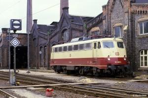 Martin Rese; 110 488-4, BW Kassel, 20.07.1984