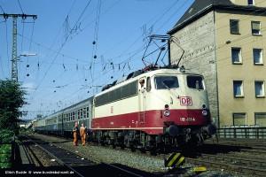 Ulrich Budde; 110 488-4, Koblenz Hbf; 03.08.1995
