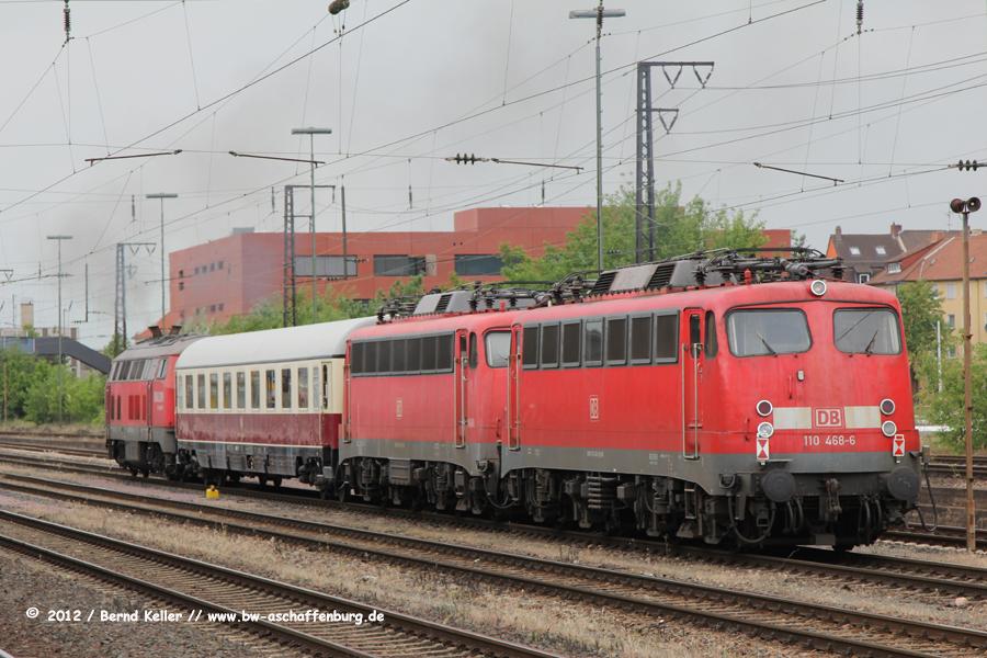 225 015 + 110 488 + 110 468,,Aschaffenburg Hbf,NAH-FD (2) bearbeitet